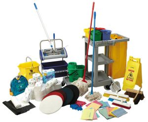 Cleaning Materials and Equipment